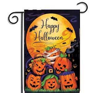Halloween Pumpkin Garden Flag 12