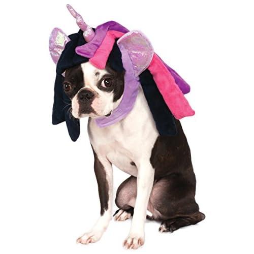 Rubies Costume My Little Pony Twilight Sparkle Hood Pet Costume, Small/Medium