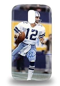 Galaxy Skin Case Cover For Galaxy S4 Popular NFL Dallas Cowboys Roger Staubach #12 Phone Case ( Custom Picture iPhone 6, iPhone 6 PLUS, iPhone 5, iPhone 5S, iPhone 5C, iPhone 4, iPhone 4S,Galaxy S6,Galaxy S5,Galaxy S4,Galaxy S3,Note 3,iPad Mini-Mini 2,iPad Air )