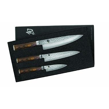 Shun TDMS0300 Premier Knife Starter Set, 3-Piece