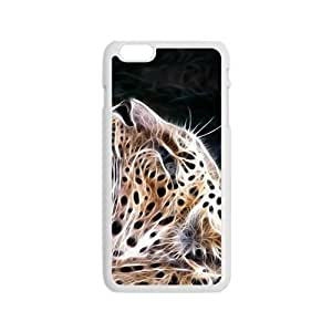 Happy Abstract Leopard Custom Protective Hard Phone Cae For Iphone 6