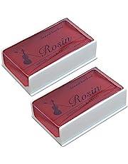 Rosin 2 pack Big size Rosin Natural Rosin for Violin Cello Viola Bows