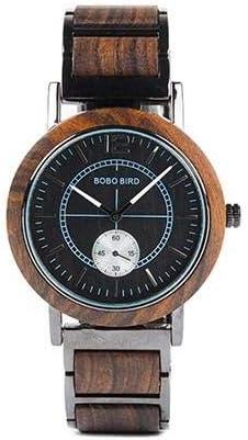 Reloj W-R12/R13 DE Madera Bobo Bird ESPAÑA 2019: Amazon.es: Relojes