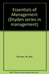 Essentials of management (Dryden series in management) Hardcover