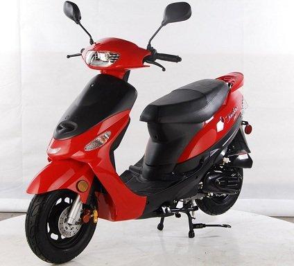 Amazon.com: Maui Dreamer de 50 cc 4 tiempos ciclomotor ...