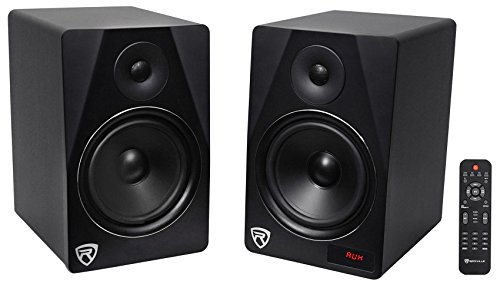 Dual 8'' Home Theater System w/Bluetooth/FM/USB/SD/RCA+MicInputs by Rockville