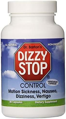 Motion Sickness, Dizziness, Vertigo, Nausea - All Natural Herbal Supplement Treatment - By Dizzy Stop