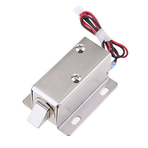 Homyl Universal 6V 1.5A Mini Electric Magnetic Electromagnetic Lock Door Gate Access Entry Control by Homyl
