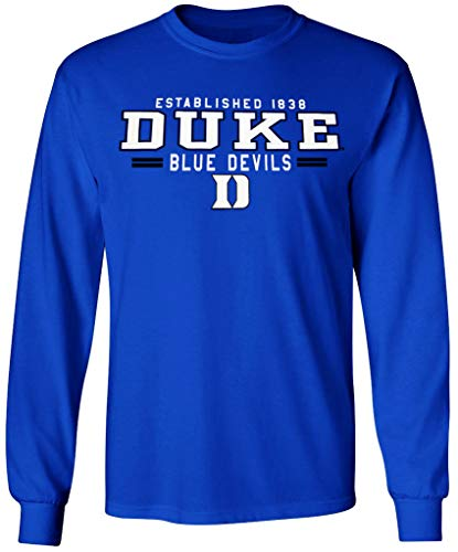 Duke Blue Devils T-Shirt Basketball Jersey Decal University Mens Womens Apparel Medium