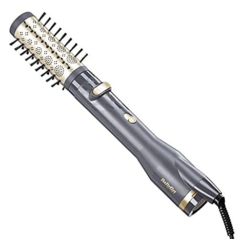 BaByliss AS520E Hot air brush Caliente Negro, Oro 650W 1.8m Utensilio de peinado -