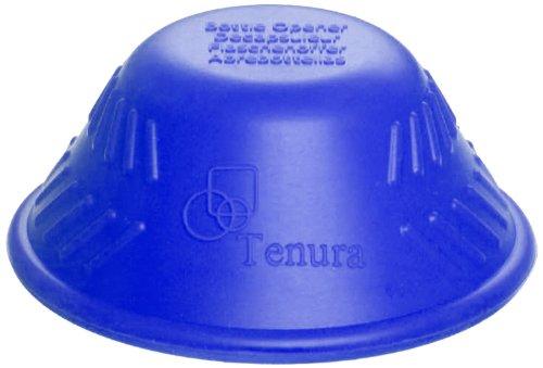 "Tenura Blue Silicone Bottle Opener, 2-1/2"" Diameter (753700002)"