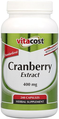 Vitacost Cranberry Extract - Standardized -- 400 mg - 240 ()