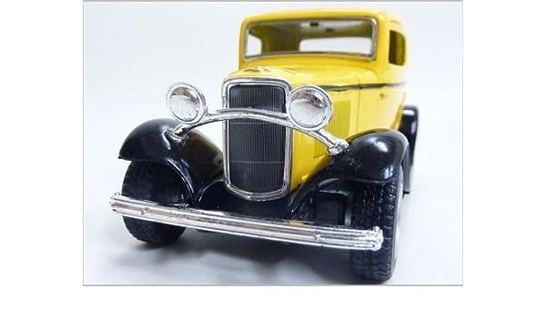 Gefertigt Nach 1970 Old Timer Ford Coupe Pull Back Antiquitäten & Kunst