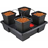Wilma Small 4 x 6 Litre Pot Hydroponic Dripper System + Black Orchid Pro Timer by Wilma