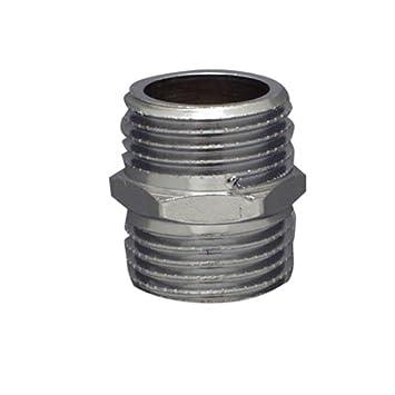 Cornat chrom Doppelnippel 3/8 Zoll , TEC386600 Conmetall