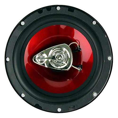 BOSS Audio Systems CH6530 Car Speakers - 300 Watts of Power Per Pair and 150 Watts Each, 6.5 Inch, Full Range, 3 Way, Sold in Pairs, Easy Mounting