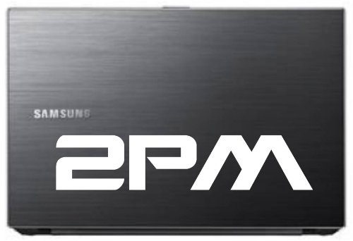 """2PM Kpop Band 7"""" Die Cut White Vinyl Decal Sticker for Car Automobile Window Bumper Truck Laptop Ipad Notebook Computer Skateboard Motorcycle"""
