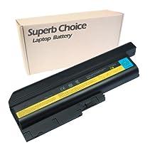 IBM ThinkPad T60p 6458 Laptop Battery - Premium Superb Choice® 9-cell Li-ion Battery
