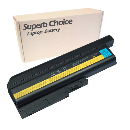 Superb Choice 9-Cell Battery Compatible with Thinkpad T61 T 61 R61 R 61 R400 T400 (Fru 92p1127 Replacement Ibm)