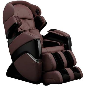 Osaki OS-3D Pro Cyber Zero Anti Gravity Massage Chair Evolved 3D Technology Recliner (Brown)