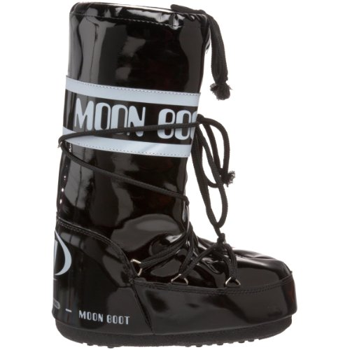 Moon Boot Technique vinyle Noir/blanc