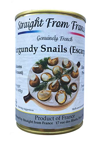 - Straight from France Extra large French Helix Pomatia Burgundy Escargots Snails (4 dozens)