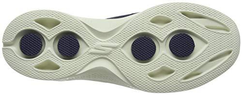 Blu 3 navy Donna Infilare Sneaker Skechers Nvy Go Walk Ag1Oz
