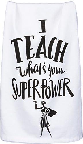 Primitives By Kathy Tea Towel Worlds Most Fabulous Teacher