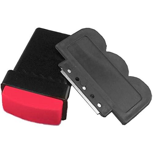 "'Set tampons ""rectangulaire ~ rouge ~ Normal: 1grand rectangulaire Tampon et 1grattoir... Idéal pour les beliebten rectangulaire Full Cover de Stampin gmotive. Avec Tampon normalem."