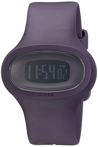 Alessi Men's AL25004 Jak Polyurethane Purple Designed by Karim Rashid (Karim Rashid Watch)