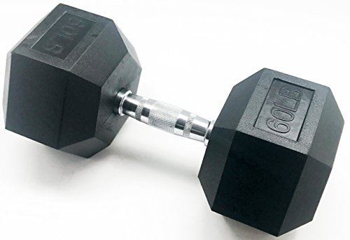BalanceFrom GoFit All Purpose Weights, Dumbbell, 60 pounds