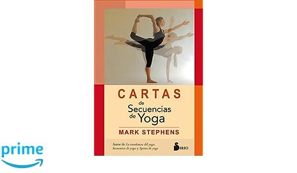 Cartas de sencuencias de yoga (Spanish Edition): Mark ...
