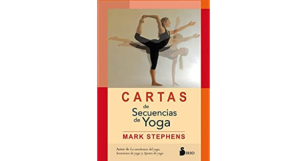 Amazon.com: Cartas de sencuencias de yoga (Spanish Edition ...
