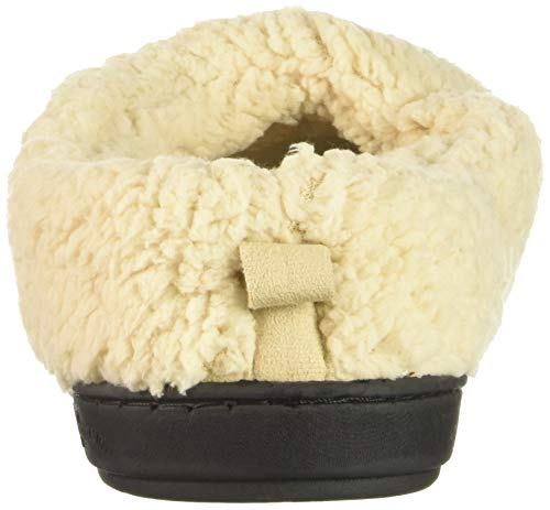 Latte Women's Slipper Dearfoams Microsuede Clog faIpqfx0w1
