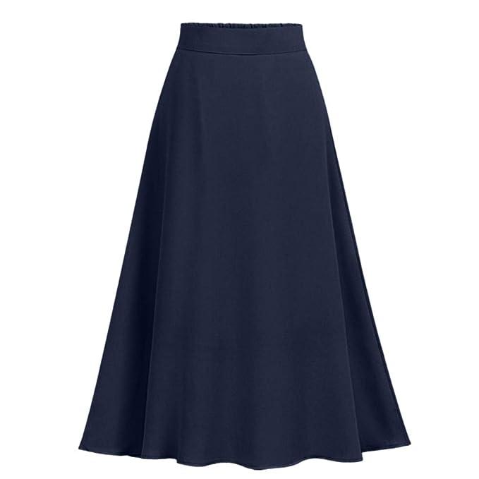 VECDY Faldas Mujer, Falda Maxi Vestidos 2019 De Fiesta Boda Falda ...