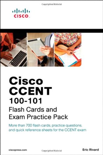 CCENT ICND1 100-101 Flash Cards and Exam Practice Pack (Flash Cards and Exam Practice Packs)