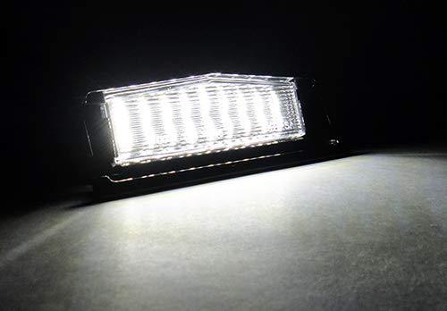 2 x LED luce targa bianca Canbus per 2015-up MX-5 Miata Roadster IV ND Mazda2