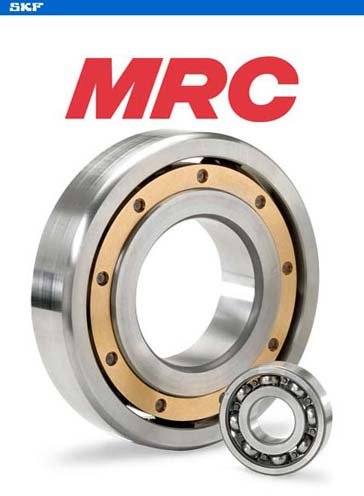 MRC (SKF) 9224 UPDT BRZ - Radial/Deep Groove Ball Bearing - Round Bore, 120 mm ID, 215 mm OD, 40 mm Width
