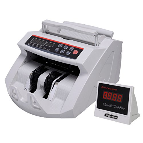 Super buy Money Bill Counter Counting Machine Counterfeit Detector UV & MG Cash Bank (Automatic Cash Machine compare prices)