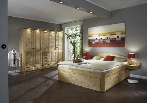 Schlafzimmer komplett Kleiderschrank Bett Magnum 1 Kiefer massiv ...