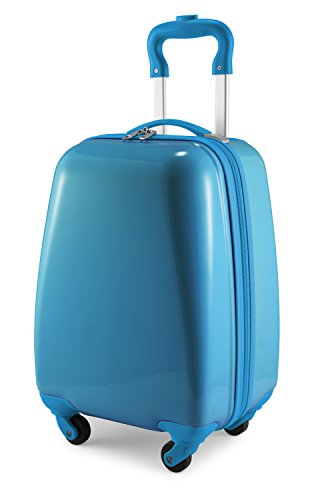 - Hauptstadtkoffer Kids Luggage Children's Luggage Suitcase Hard-Side Glossy Multicoloured Blue