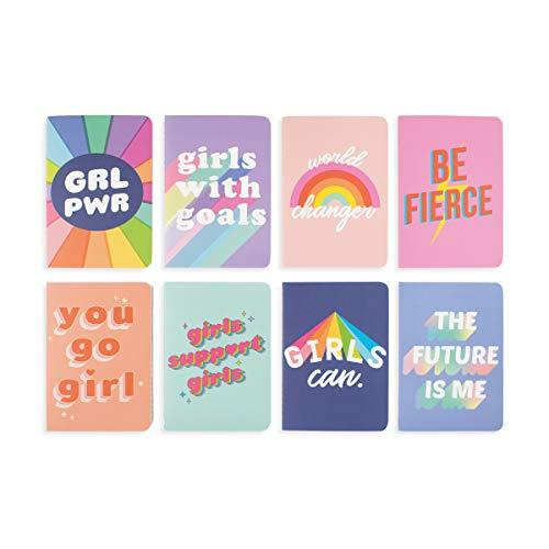 Pocket Pal Mini Journals - Set of 8 - Grl Pwr