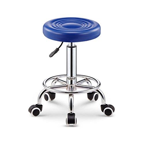 Everyday bar stools NNN- Bar Tabouret Bar Chaise Pivotante Tlsige Chaise Chaise De Beaut Tabouret Haut Tabouret Banc Tabouret Tabouret De Beaut Tabouret (Color : Blue)