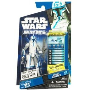 Star Wars The Clone Wars Captain Rex In Snow Gear Scale by Hasbro, 3.75 inch - Cw12]()