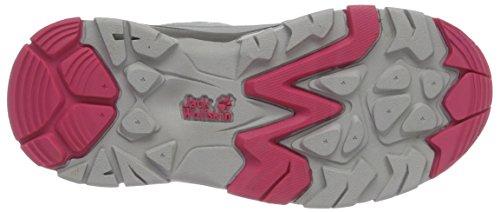 Jack Wolfskin Mtn Attack 2 K, Zapatos de Low Rise Senderismo Unisex Niños Rosa (Tropic Pink)