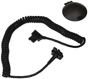 Metz V76 - Cable de conexión y sincronización para flash, negro