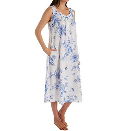 Aria Peri Day Cotton Jersey Sleeveless Ballet Gown (8221928) L/White Floral