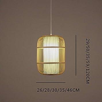 GCCI Araña en bambú, luminarias suspendidas en el Techo ...