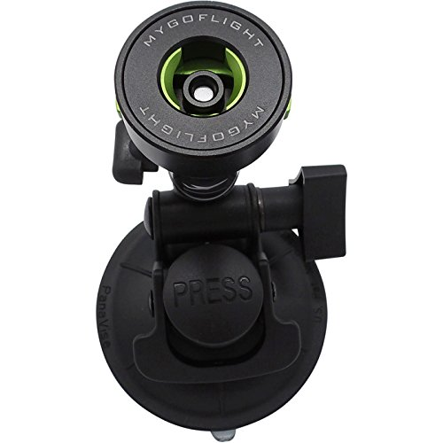 Compact Suction Cup Sport Mount by MyGoFlight
