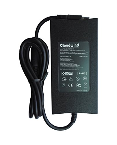 Price comparison product image Cloudwind 19.5V 6.7A 130W AC Adapter Charger for Dell Precision M20 M60 M70 M90 M2400 Dell Vostro 500 1000 Dell XPS M1210 M1330 Dell Studio 1535 1536 16 Lapotp. CompatibleP/N:FA130PE1-00, DA130PE1-00.